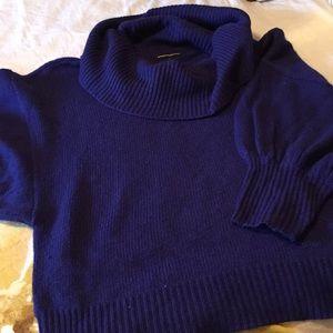 Purple express sweater